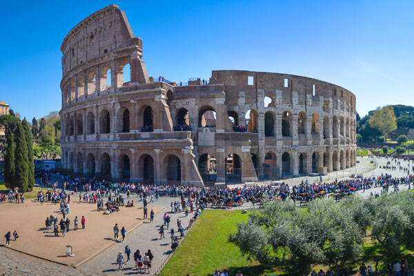 Colosseo e Roma antica