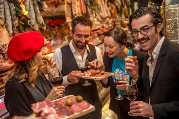 El sabor de Roma. Visita