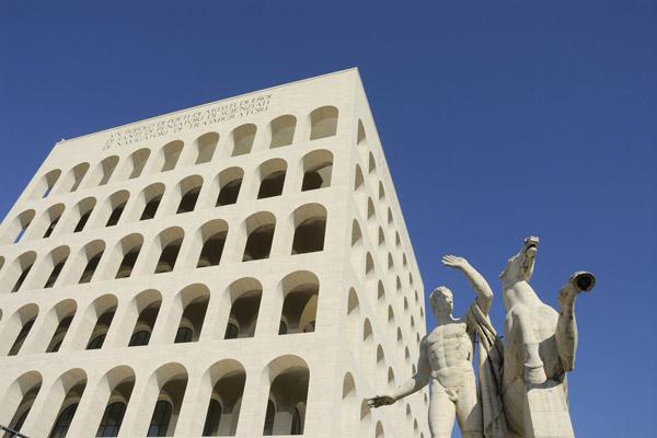 Mussolini e l'Architettur