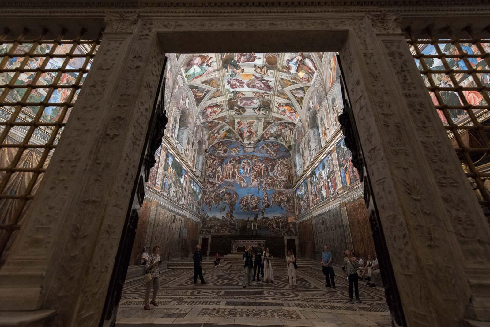 Vatikanstadt-Fußtour bei