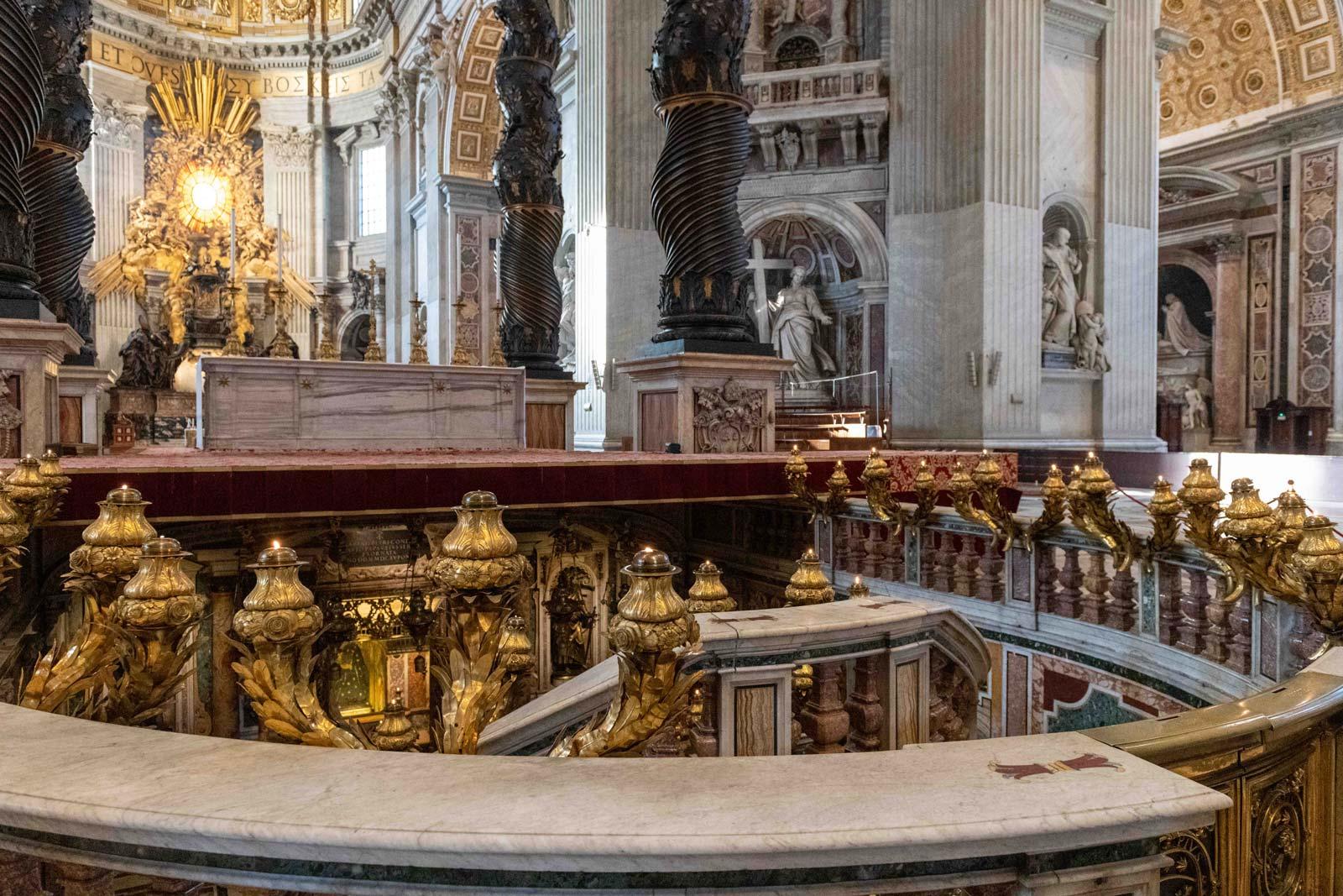 Tour durch die Vatikanisc